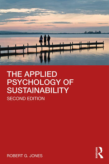 The Applied Psychology of Sustainability book cover