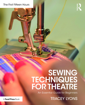 Sewing Techniques for Theatre An Essential Guide for Beginners book cover