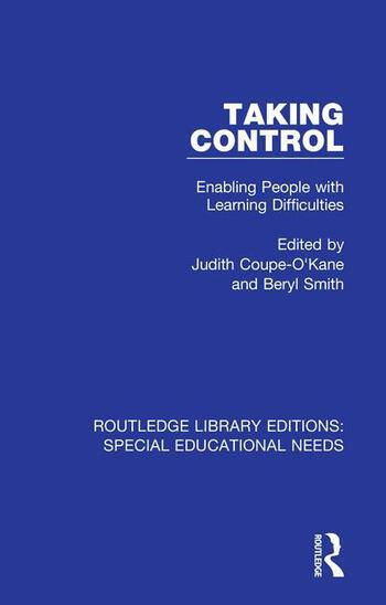 Taking Control Enabling People with Learning Difficulties book cover