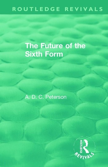 The Future of the Sixth Form book cover