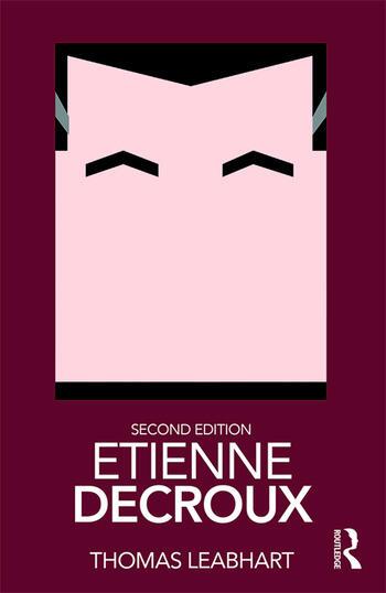 Etienne Decroux book cover