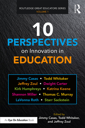 10 Perspectives on Innovation in Education book cover