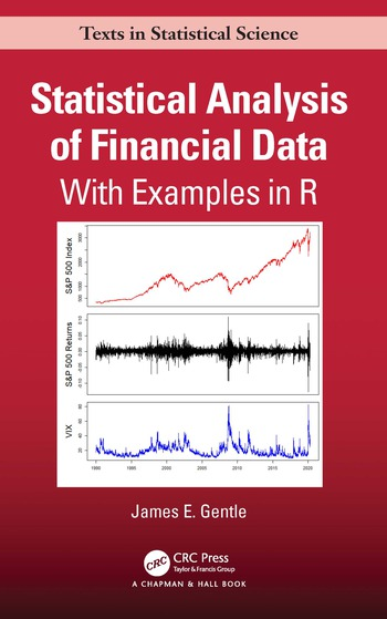 Statistical Analysis of Financial Data With Examples In R book cover
