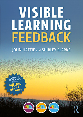 Visible Learning: Feedback book cover