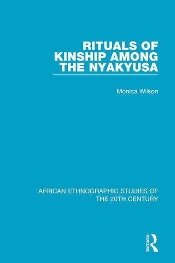 Rituals of Kinship Among the Nyakyusa book cover