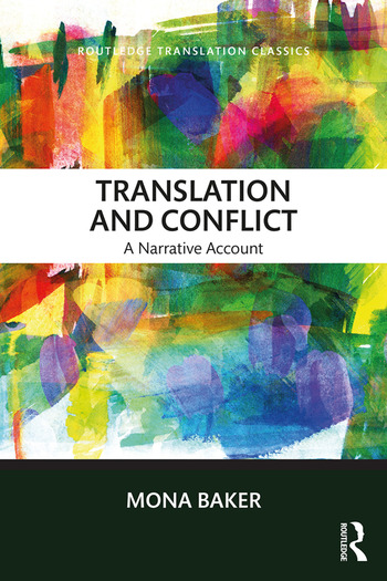 Translation and Conflict A narrative account book cover