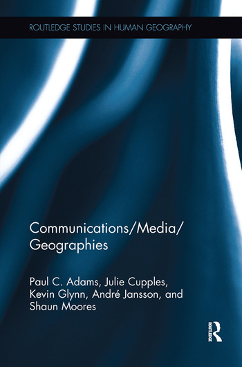 Communications/Media/Geographies book cover