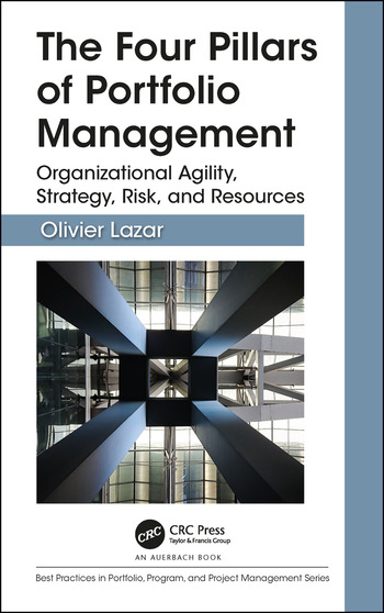 The Four Pillars of Portfolio Management Organizational Agility, Strategy, Risk, and Resources book cover