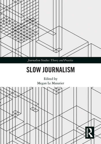 Slow Journalism book cover