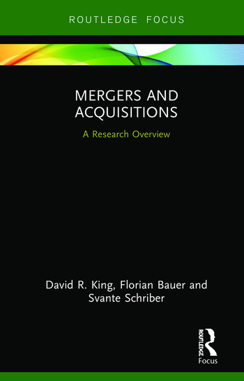 Mergers and Acquisitions A Research Overview book cover