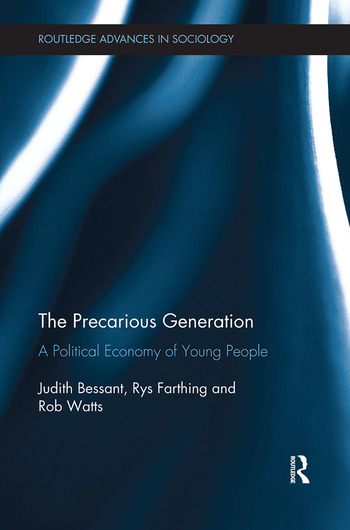 The Precarious Generation A Political Economy of Young People book cover