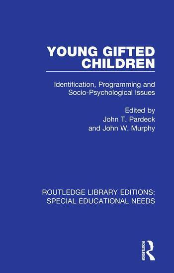 Young Gifted Children Identification, Programming and Socio-Psychological Issues book cover