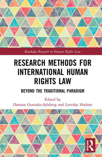 Research Methodologies for International Human Rights Law Beyond the traditional paradigm book cover