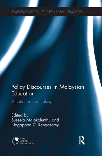 Policy Discourses in Malaysian Education A nation in the making book cover