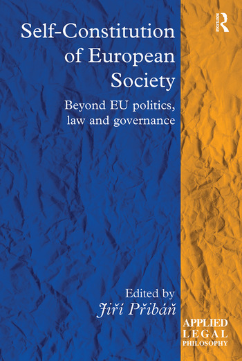 Self-Constitution of European Society Beyond EU politics, law and governance book cover