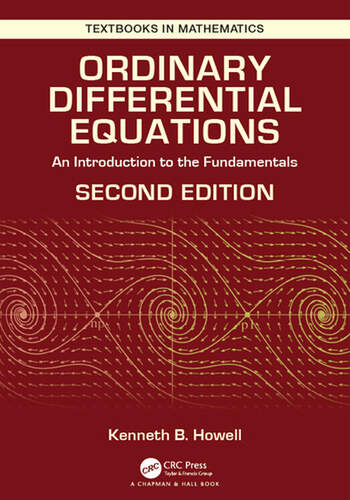 Ordinary Differential Equations An Introduction to the Fundamentals book cover