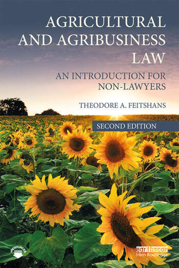 Agricultural and Agribusiness Law An Introduction for Non-Lawyers book cover