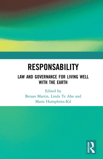 ResponsAbility Law and Governance for Living Well with the Earth book cover