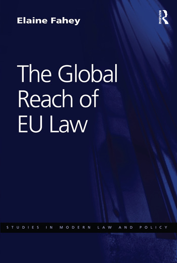 The Global Reach of EU Law book cover