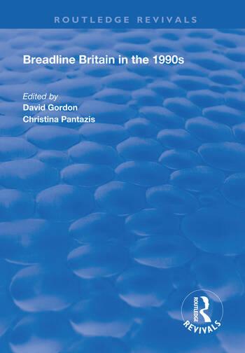 Breadline Britain in the 1990s book cover