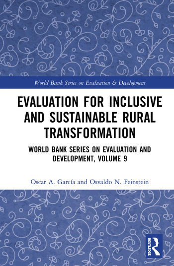 Evaluation for Inclusive and Sustainable Rural Transformation World Bank Series on Evaluation and Development, Volume 9 book cover