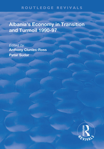 Albania's Economy in Transition and Turmoil 1990-97 book cover