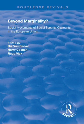 Beyond Marginality? Social Movements of Social Security Claimants in the European Union book cover