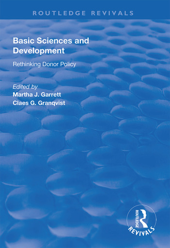 Basic Sciences and Development Rethinking Donor Policy book cover