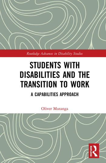 Students with Disabilities and the Transition to Work A Capabilities Approach book cover