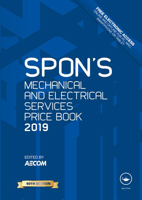 Spon's Mechanical and Electrical Services Price Book 2019 book cover