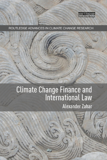 Climate Change Finance and International Law book cover