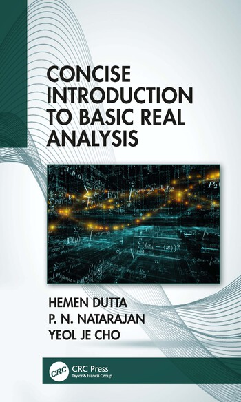 Concise Introduction to Basic Real Analysis book cover