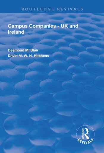 Campus Companies UK and Ireland book cover