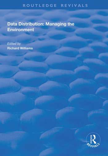 Data Distribution Managing the Environment book cover