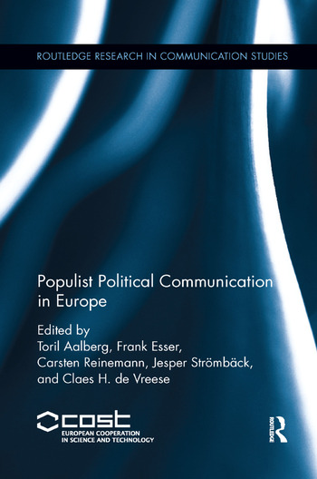 Populist Political Communication in Europe book cover