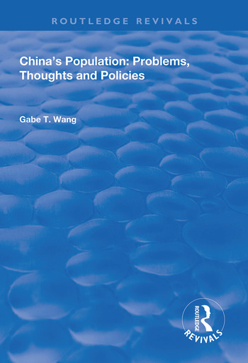 China's Population Problems, Thoughts and Policies book cover