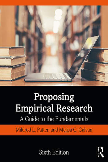 Proposing Empirical Research A Guide to the Fundamentals book cover