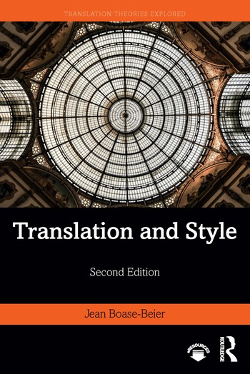 Translation and Style book cover