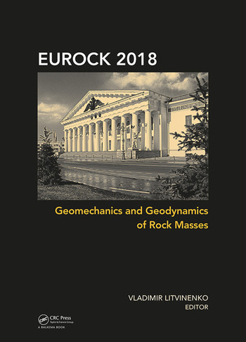 Geomechanics and Geodynamics of Rock Masses Proceedings of the 2018 European Rock Mechanics Symposium book cover