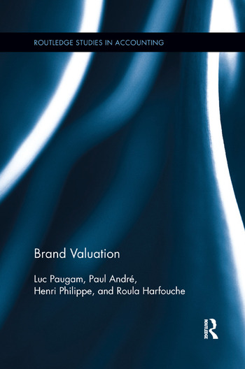 Brand Valuation book cover