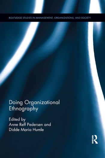 Doing Organizational Ethnography book cover