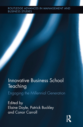 Innovative Business School Teaching Engaging the Millennial Generation book cover