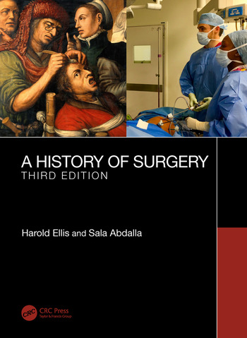 A History of Surgery Third Edition book cover