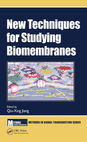 New Techniques for Studying Biomembranes book cover