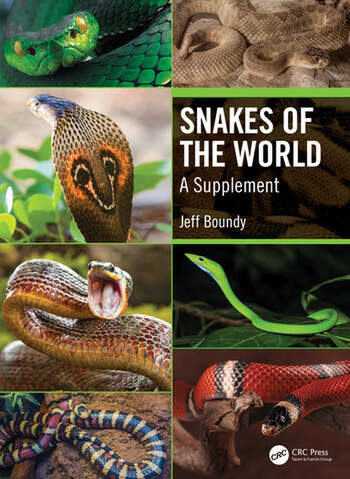 Snakes of the World A Supplement book cover