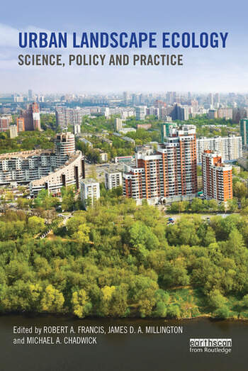 Urban Landscape Ecology Science, policy and practice book cover