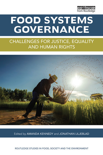 Food Systems Governance Challenges for justice, equality and human rights book cover