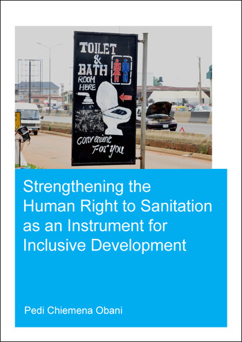 Strengthening the Human Right to Sanitation as an Instrument for Inclusive Development book cover