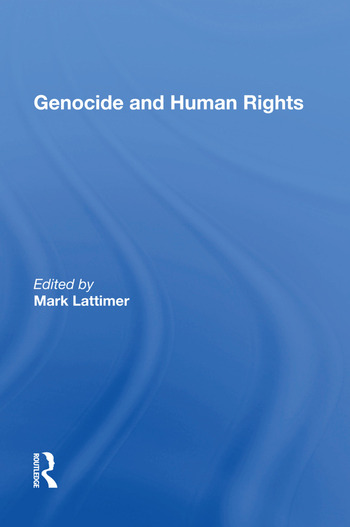 Genocide and Human Rights book cover