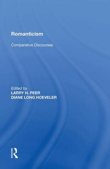 Romanticism Comparative Discourses book cover